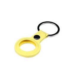Чохол для Apple AirTag Silicone Key Ring Yellow