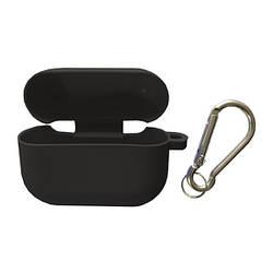 Чохол для AirPods PRO SLIM Case (+ Карабін) Box Dark grey