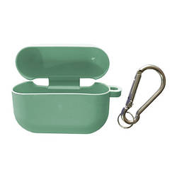 Чохол для AirPods PRO SLIM Case (+ Карабін) Box Mint green