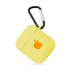 Чохол для AirPods SILICONE CASE Mellow yellow