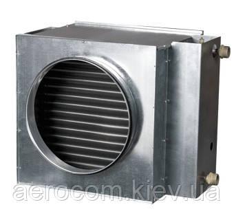 Нагреватель канальный водяной круглый- НКВ