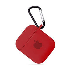 Чохол для AirPods SILICONE CASE Red