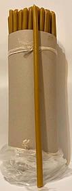 Свічки віск №10 (50шт в / уп. висота 36см. діаметр 1.2 мм)