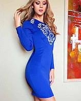 Платье с аппликацией | Нинель lzn