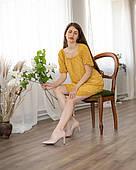 Жіноче зручне легке шифонове плаття