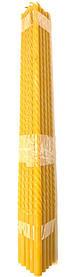 Свічка престольна віск 100% (висота-45см; діаметр-14мм) упаковка 15шт.