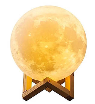 Настольный светильник Луна Magic 3D Moon Light Touch Control