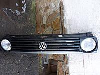 Решетка Фольксваген Гольф 2 / VW Golf 2 на 2 фары, без фар