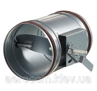Воздушная заслонка с регулятором, для систем вентиляции