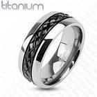 Кольцо титановое для мужчин Spikes (США), фото 2