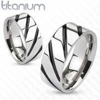 Кольцо из титана для мужчин Spikes (США)