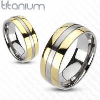 Мужское кольцо Spikes из титана (США)