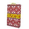 Пакет подарунковий соняшники , орнамент