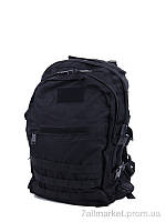 """Рюкзак чоловічий 3D big black 50*35*20 см, """"Putnic"""" недорого оптом від прямого постачальника"""