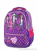 "Рюкзак дитячий 6707 violet 45*30*15 см, ""Putnic"" недорого оптом від прямого постачальника"