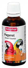Beaphar  Paganol 50мл. витамины для укрепления оперения птиц