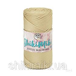 Полиэфирный шнур Matte Macrame 3 mm, цвет Пшеничный