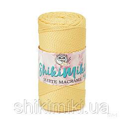 Полиэфирный шнур Matte Macrame 3 mm, цвет Желтый