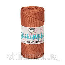 Полиэфирный шнур Matte Macrame 3 mm, цвет Кирпичный