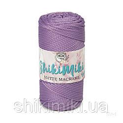 Шнур поліефірний Matte Macrame 3 mm, колір Бузок