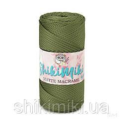Полиэфирный шнур Matte Macrame 3 mm, цвет Хаки