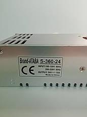 Блок питания Ataba  24V 15А (S-360-24), фото 2