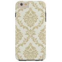 Пластиковый чехол Vintage Damask Gold для IPhone 6, iPhone 6S, Золото