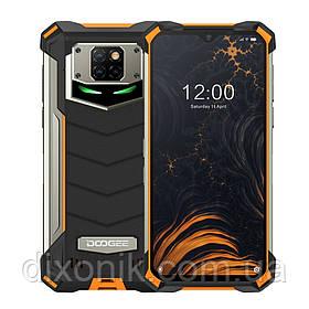 """Смартфон Doogee S88 Pro orange огромный экран 6,3"""" защита IP69K память 6/128 Гб батарея 10000 mAh"""