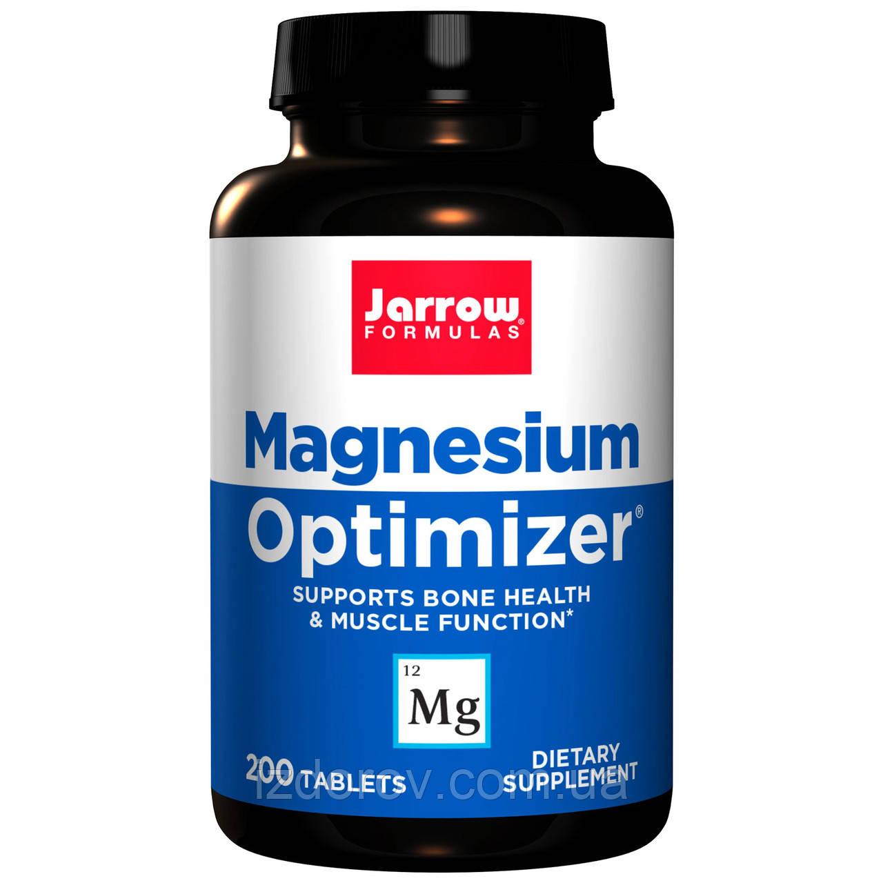 Jarrow Formulas, Magnesium Optimizer, Магний B6, 200 таблеток