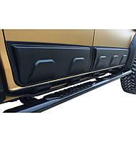 Isuzu D-Max 2011-2019 гг. Молдинг на двери (4 шт, ABS)
