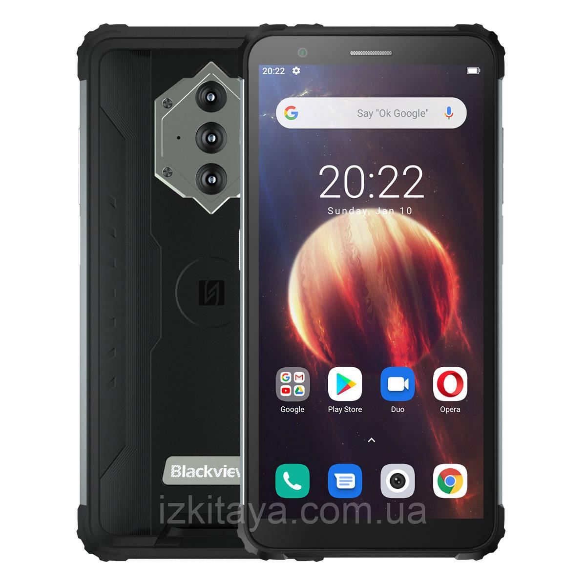 Смартфон Blackview BV6600 black мощный аккумулятор 8580 mAh + Свит ТВ 3 месяца бесплатно