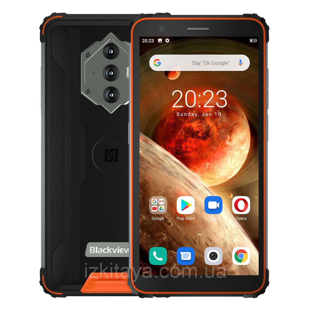 Смартфон Blackview BV6600 orange + Свит ТВ 3 місяці безкоштовно