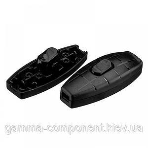 Клавішний перемикач для бра KCD5-305, чорний