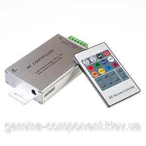 Контролер для світлодіодної стрічки RGB 24 A, 288 Вт, радіопульт 20 кнопок