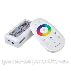Контролер для світлодіодної стрічки RGBW 24 A, 288 Вт, ІЧ пульт 8 кнопок