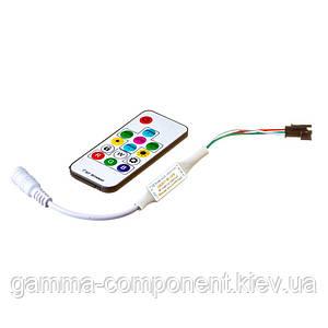 Контролер для адресної світлодіодної стрічки Smart mini 6 A, 72 Вт, радіопульт 14 кнопок