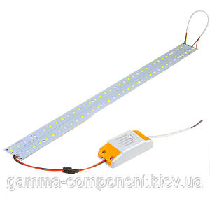 Комплект з 2-ух світлодіодних лінійок 14 Вт для заміни ламп Т8 в растрових світильниках, білий нейтральний