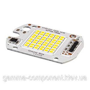 Світлодіодна матриця для прожектора з IC драйвером 30 Вт, 6000К, 220 В