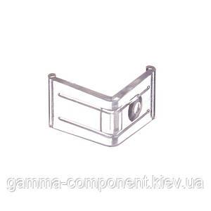 Крепеж пластиковий угловой для алюминиевого профиля ПФ-8