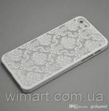 Чехол пластиковый Vintage Damask White для IPhone 6, iPhone 6S, Белый