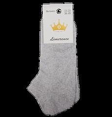 Шкарпетки жіночі сітка бавовна Lmrs 36-40 сірі