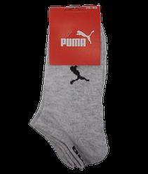 Спортивні жіночі шкарпетки сітка Пума 36-40 сірі