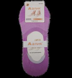 Сліди з силіконом сітка Н014 37-41 фіолетові