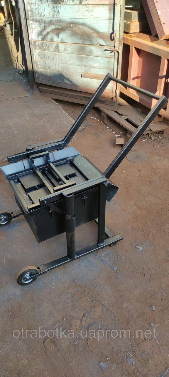 Вибростанок СТ-2 для изготовления строительных блоков