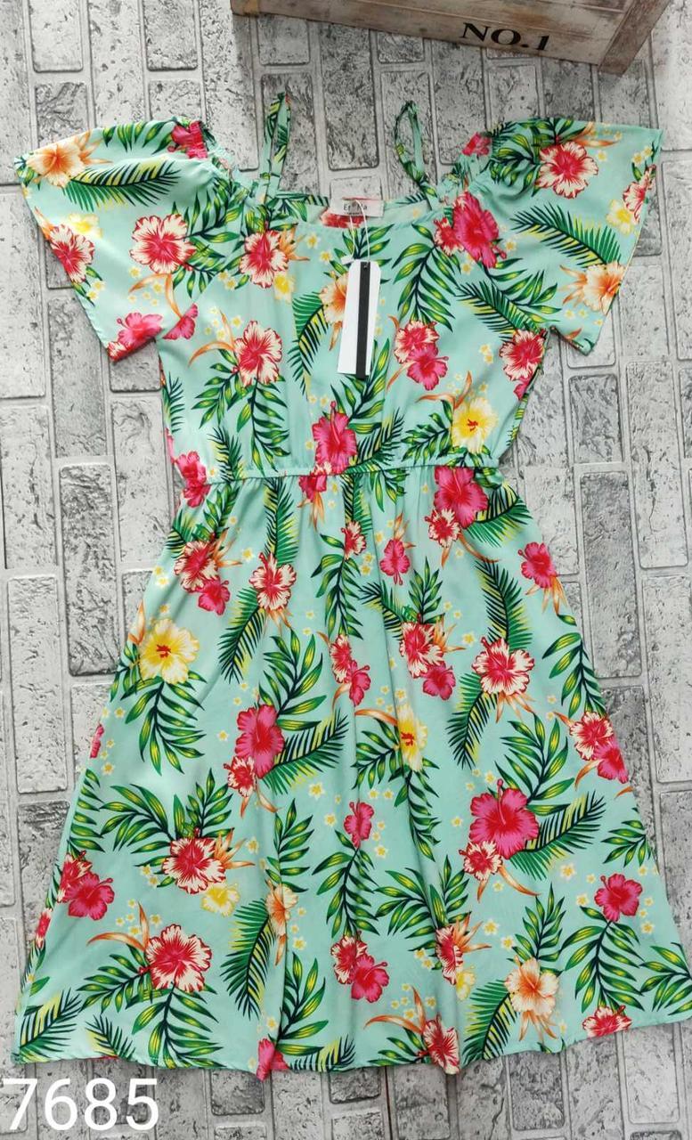 Сарафан на бретелях/ Мини платье