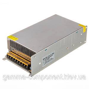 Блок живлення 12В перфорований серії МR, 41.66 A 500Вт, IP20