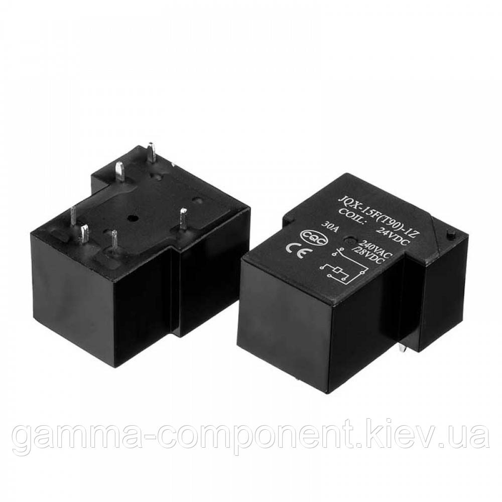 Реле JQX-15F(T90), 30А, 24VDC/ контакты-1С