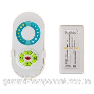 Контроллер для светодиодной ленты W+WW (двухцветной) 12А, 144Вт, радиопульт сенсорный 5 кнопок