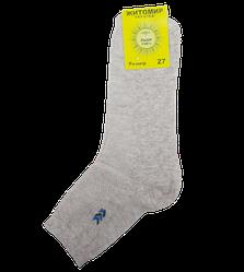 Чоловічі шкарпетки сітка Льон 40-43 бежеві