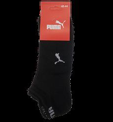 Спортивні чоловічі шкарпетки сітка Пума 40-44 чорні